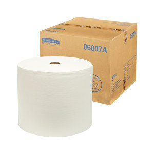 KIMBERLY-CLARK/金佰利 WYPALL*劲拭*L40大卷式工业擦拭纸 05007A 白色 31.8*34cm DRC技术木浆 1箱