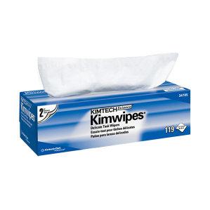 KIMBERLY-CLARK/金佰利 KIMTECH*金特*低尘擦拭纸 34705 白色 大号 双层 30*30cm 木浆 1盒