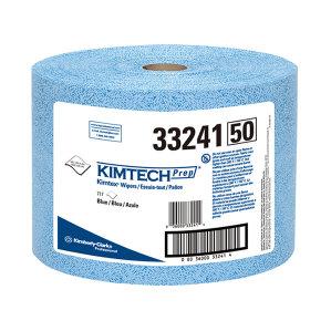 KIMBERLY-CLARK/金佰利 KIMTECH*金特*KIMTEX大卷式强力吸油擦拭布 33241A 蓝色 24.9*34cm 熔喷聚丙烯 1箱