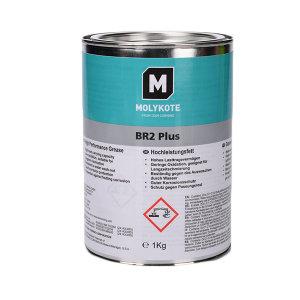 MOLYKOTE/摩力克 二硫化钼通用型轴承润滑脂 BR2 Plus 黑色 1kg 1罐