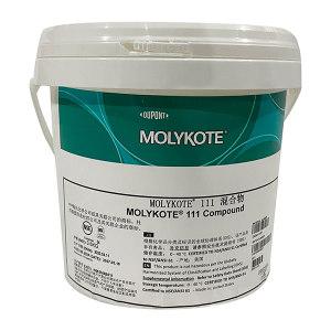 MOLYKOTE/摩力克 多用途硅脂 111 白色半透明 3.6kg 1桶