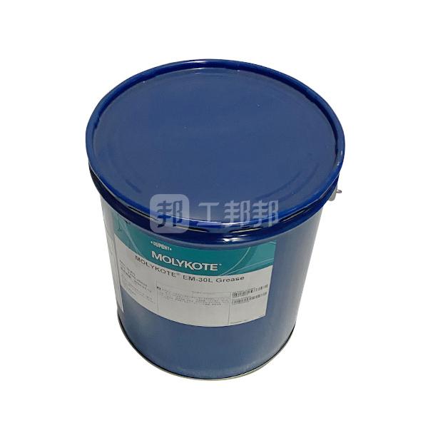 MOLYKOTE/摩力克 通用型塑料润滑剂 EM30L 白色 16kg 1桶