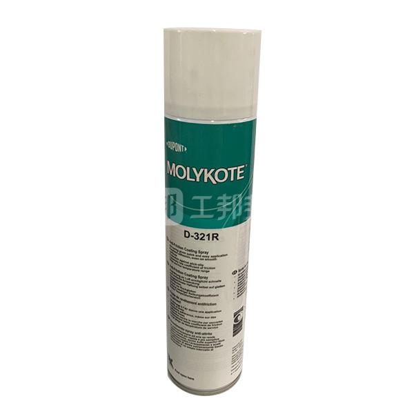 MOLYKOTE/摩力克 室温快固减摩涂层 D321R 灰黑色 400mL 1罐