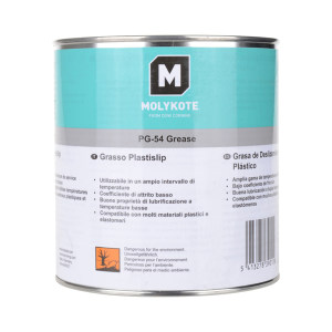 MOLYKOTE/摩力克 含固体中载硅脂塑料润滑剂 PG54 白色 1kg 1罐