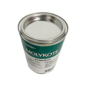 MOLYKOTE/摩力克 极低温硅脂轴承润滑剂 33M 米白色 1kg 1罐