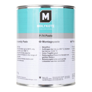 MOLYKOTE/摩力克 非金属型螺纹油膏 P74 灰黑色 1kg 1罐