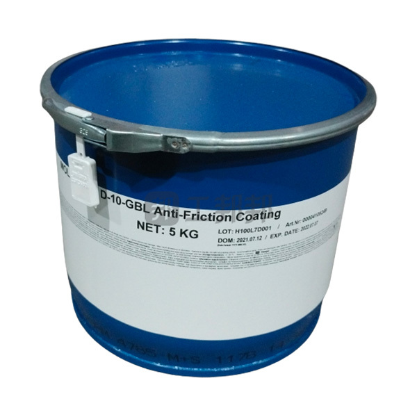 MOLYKOTE/摩力克 活塞用石墨减摩涂层 D10-GBL 灰黑色 5kg 1桶