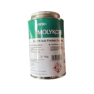 MOLYKOTE/摩力克 室温快固减摩涂层 D321R 灰黑色 1kg 1罐