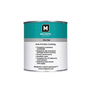 MOLYKOTE/摩力克 高性能重载涂层 PA744 炭灰色 1kg 1罐