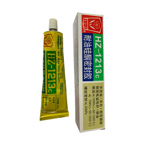 BAIHEHUA/百合花 耐油硅酮密封胶 HZ-1213C 90g 透明 1支