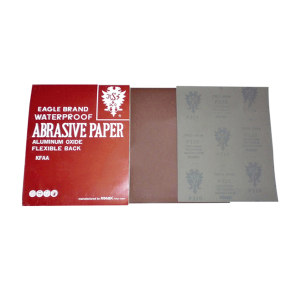 KOVAX/日本红鹰 耐水砂纸 WR-2000 230×280mm 2000目 100张 1包