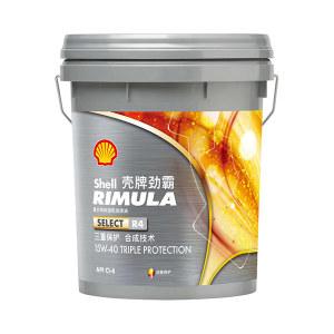 SHELL/壳牌 卓越型柴油机油 RIMULA R4X 15W40 18L 1桶