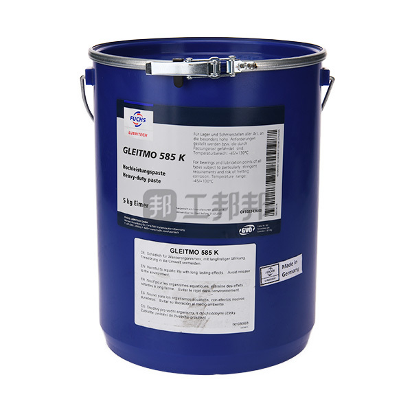 FUCHS/福斯 轴承润滑脂,风电行业专用 GLEITMO 585K 5kg 1桶