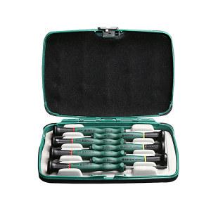 SATA/世达 一字、十字微型螺丝批组套 SATA-09314 7件 塑盒 1套