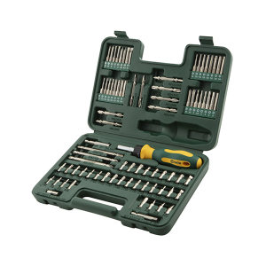 SATA/世达 6.3mm系列旋具头组套 SATA-09326 80件(吹塑箱) 1套