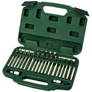 SATA/世达 8mm系列旋具头组套 SATA-09327 42件(吹塑箱) 1套