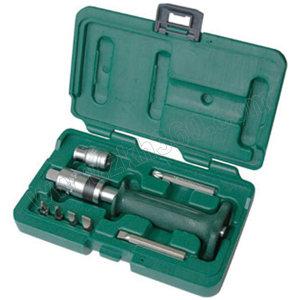 SATA/世达 护套型冲击螺丝批组套 SATA-09603 8件(吹塑箱) 1套