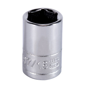"SATA/世达 6.3mm系列英制6角套筒 SATA-11109 7/16"" 1只"