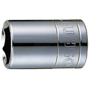 "SATA/世达 10mm系列英制6角套筒 SATA-12108 11/16"" 1只"