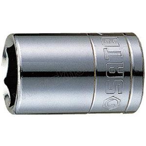 "SATA/世达 12.5mm系列英制6角套筒 SATA-13104 1/2"" 1只"