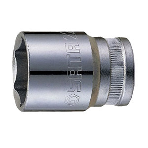 SATA/世达 12.5mm系列公制6角套筒 SATA-13315 24mm 1只