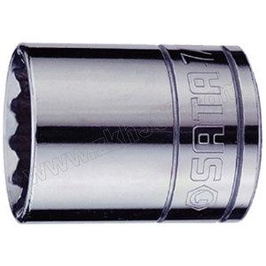 "SATA/世达 12.5mm系列英制12角套筒 SATA-13509 13/16"" 1只"