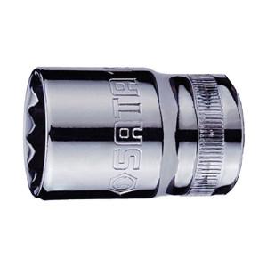 SATA/世达 12.5mm系列公制12角套筒 SATA-13608 17mm 1只