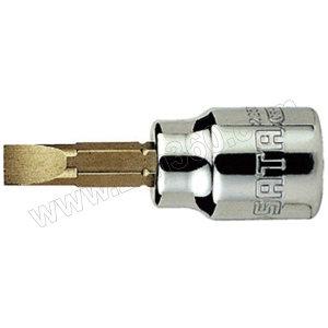 SATA/世达 10mm系列一字形旋具套筒 SATA-22502 6.5mm 1支