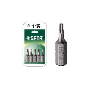 SATA/世达 6.3mm系列25mm长花形旋具头 SATA-59232 T10 1组