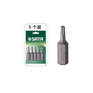 SATA/世达 6.3mm系列25mm长中孔花形旋具头 SATA-59248 TT40 1组