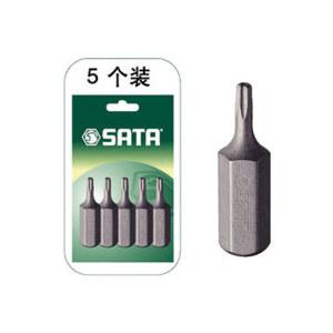 SATA/世达 8mm系列30mm长中孔花形旋具头 SATA-59456 TT30 1组