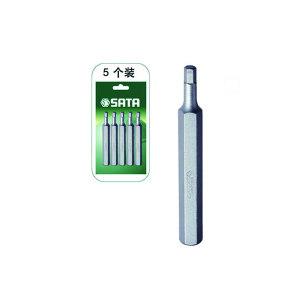 SATA/世达 8mm系列70mm长公制6角旋具头 SATA-59571 4mm 1组
