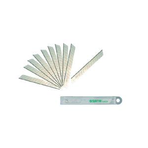 SATA/世达 18mm系列美工刀刀片 SATA-93437 18×100×0.5mm 15节 1组