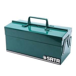 """SATA/世达 3翻斗工具箱 SATA-95116 14"""" 350×160×165mm 1只"""
