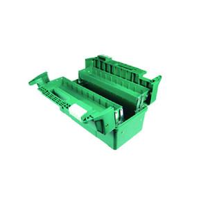 """SATA/世达 3翻斗塑料工具箱 SATA-95166 17"""" 440×230×250mm 1只"""