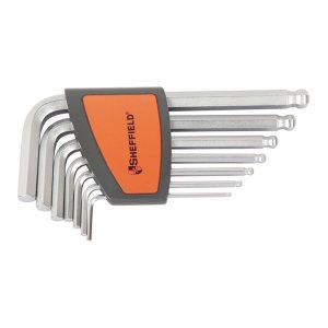 SHEFFIELD/钢盾 公制球头内六角扳手套装(7件) S050001 7件 1.5~6mm 1套