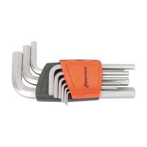 SHEFFIELD/钢盾 公制内六角扳手套装(9件) S050004 9件 1.5~10mm 1套