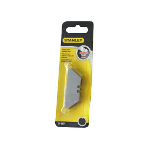 STANLEY/史丹利 圆头刀片 11-987-81 19×55×0.65mm;可配切割刀:10-189-81使用 1组