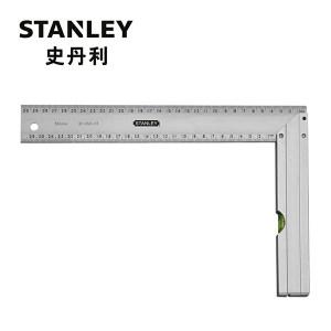 STANLEY/史丹利 带水泡铝直角尺 35-352-23 300×164mm 1把
