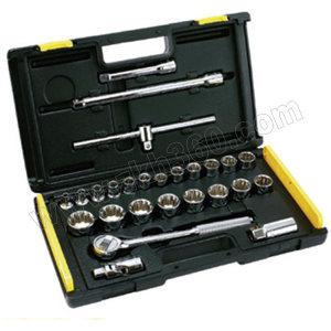 "STANLEY/史丹利 12.5MM系列12角英制套筒组套(26件) 86-478-22 26件 1/4""至1-1/4"" 1套"