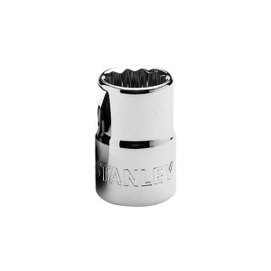 STANLEY/史丹利 12.5MM系列公制12角标准套筒 86-554-1-22 22mm 1只
