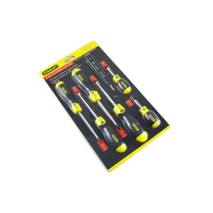 STANLEY/史丹利 胶柄螺丝批套装(6件) 92-002-23 6件 吊卡 1套