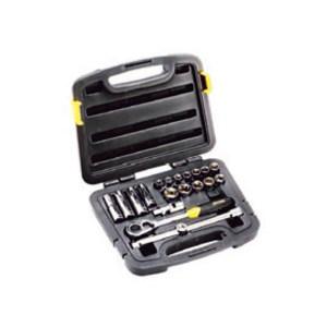 STANLEY/史丹利 12.5MM系列公制套筒组套(20件) 94-186-22 20件 10-24mm 1套