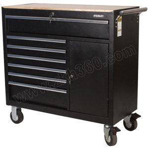 STANLEY/史丹利 9抽屉工具车 94-193-23 1035×457×1032mm 含柜内2抽屉 1台