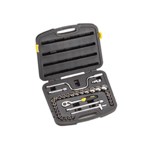 STANLEY/史丹利 12.5MM系列公制套筒组套(32件) 94-693-22 32件 8-34mm 1套