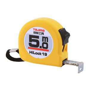 TAJIMA/田岛 HI-LOCK型卷尺 1001-0034 5.0M×19mm 手动锁定 1把