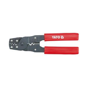 YATO/易尔拓 180mm高档压线钳 YT-2256 0.08-6.0mm2 180mm 心形 1把