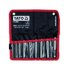 YATO/易尔拓 冲孔器组套(9件) YT-3590 9件 2.5-10mm 1套