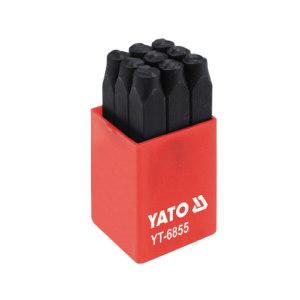 YATO/易尔拓 数字冲模(0至9) YT-6855 8×73mm 数字0至9 1套