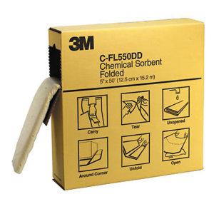 3M 折叠式化学吸液棉 C-FL550DD 吸附容量31.5GAL/119L 1盒